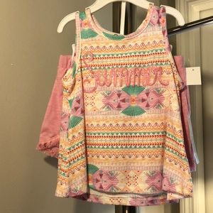 Jessica Simpson little girls summer outfit